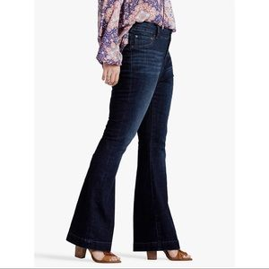 Lucky Brand Jeans Plus Size Emma Flare Jeans NWT